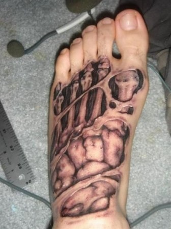 The 15 Coolest Foot Tattoos Foot Tats Guff