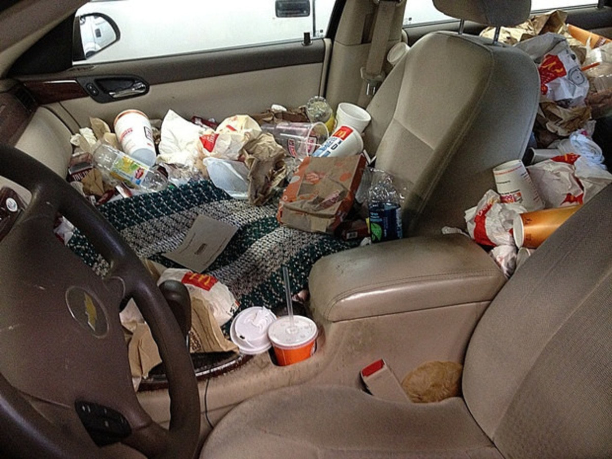 If Your Car S A Mess We Can Help Messy Car Guff