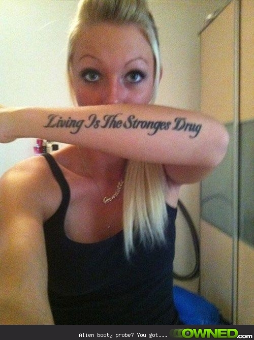 Epic Tattoo Spelling Fails Living Is Guff