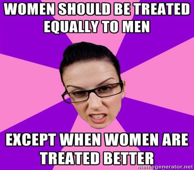 men and women should be treated equally