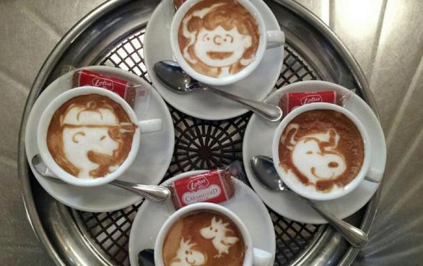 Don T Blow On These 20 Cool Images Of Coffee Foam Art