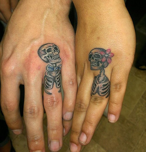 Wedding Ring Tattoos.20 Adorable Wedding Ring Tattoos Our Love Will Endor Guff