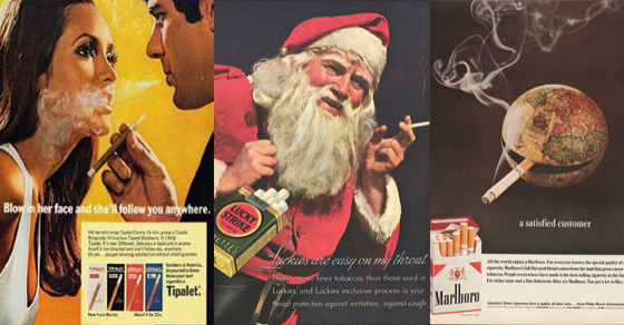 22 Unintentionally Funny Cigarette Ads
