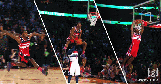 The Casual Tennis Fans Nostalgia For >> Amazing Basketball Dunk GIFs That Will Blow Your Mind - Jump Man | Guff