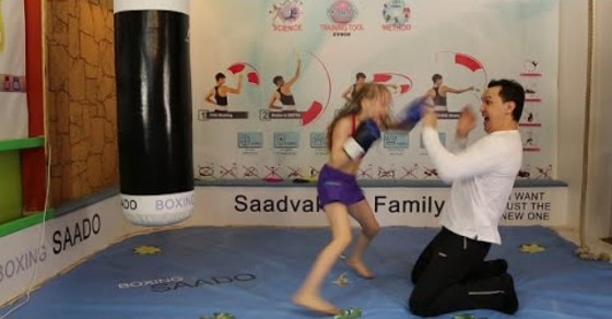 This Russian Girl Boxer Can Beat You Up - Lean, Mean, Pre