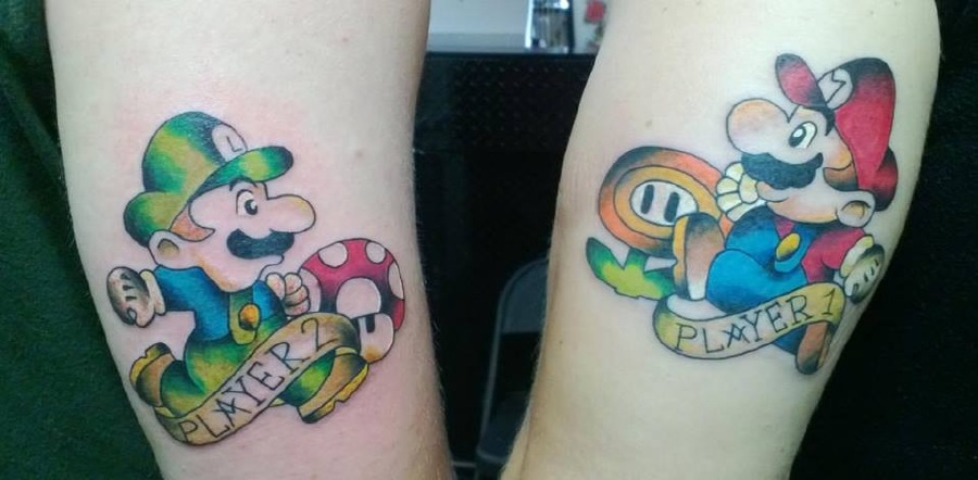 Tattood Twins Thatll Double Your Fun Double Smile Guff