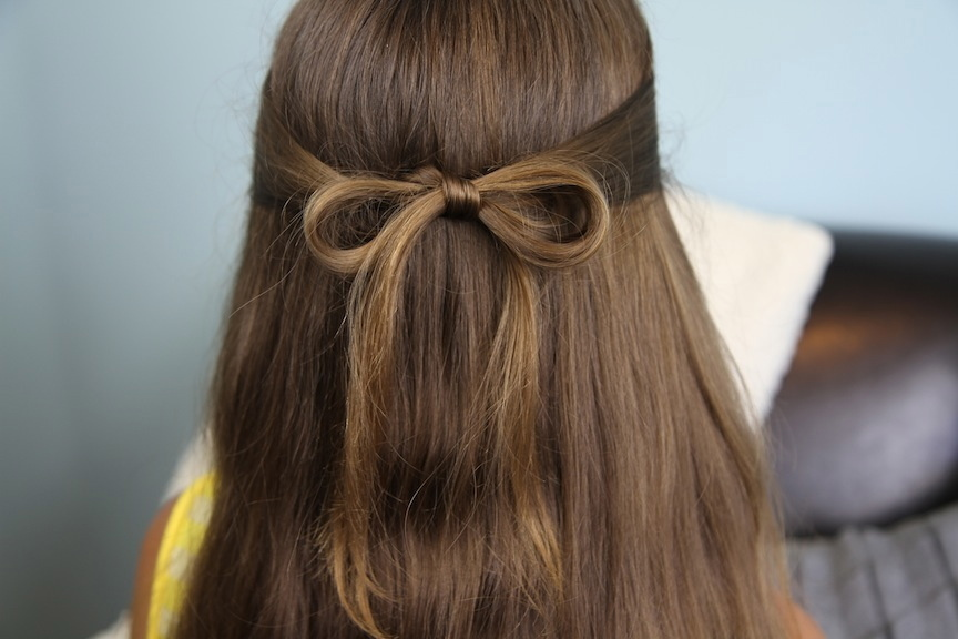 15 Easy Everyday Hairstyles To Try Hair Bow Guff