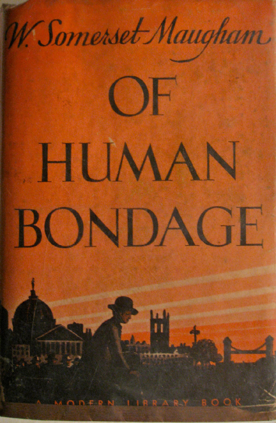 an analysis of the novel of human bondage by w somerset maugham Of human bondage is a novel by w somerset maugham it is generally agreed to be his masterpiece and to be strongly autobiographical in nature, although maugham stated, this is a novel, not an autobiography, though much in it is autobiographical, more is pure invention.
