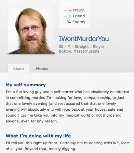 Good online dating summary