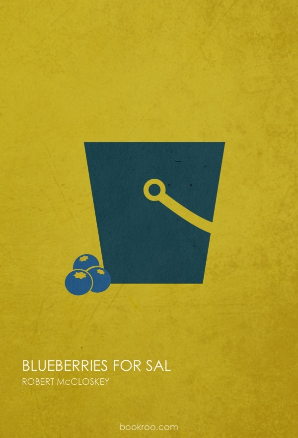 Children S Book Cover Posters : These minimalist children s book covers are too cool for