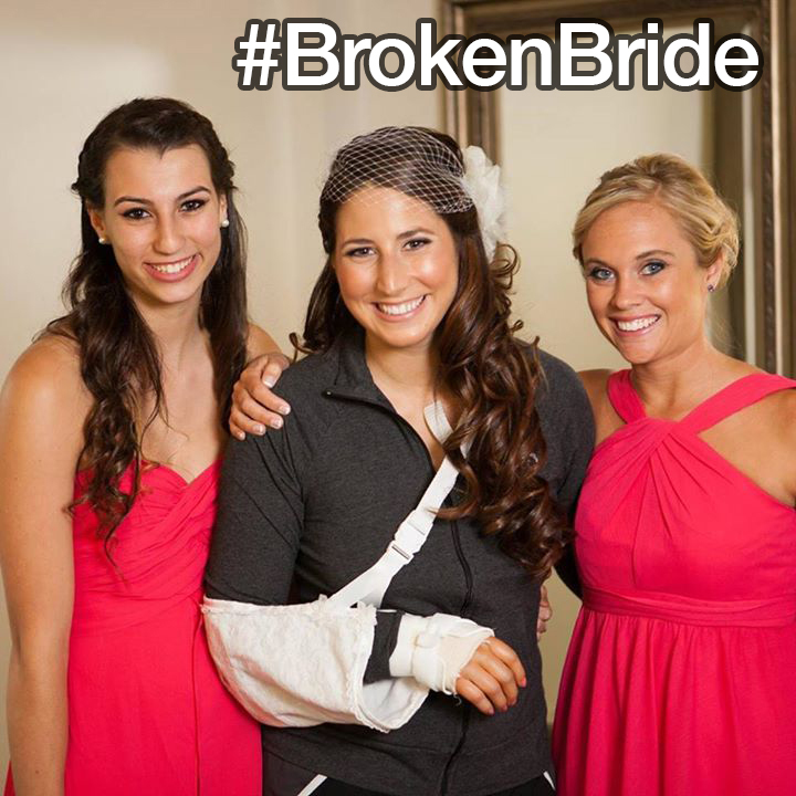 Some of the Most Clever Wedding Hashtags - #BrokenBride | Guff