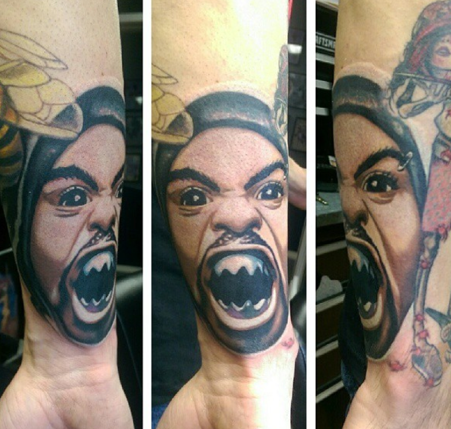 These wu tang tattoos ain 39 t nothing to f with squad for Method man tattoo