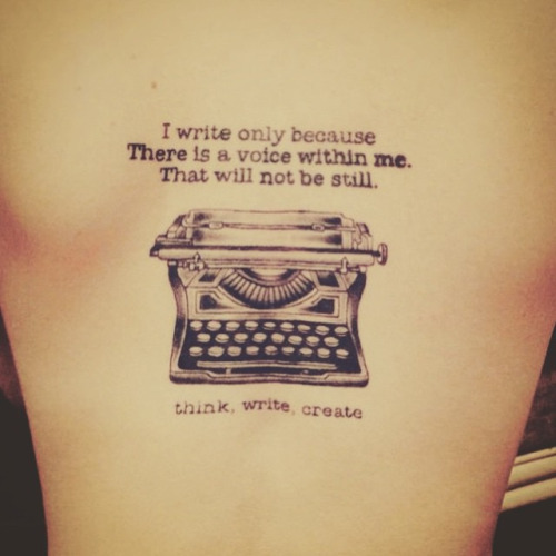 Tattoos That Show The World You're A Writer