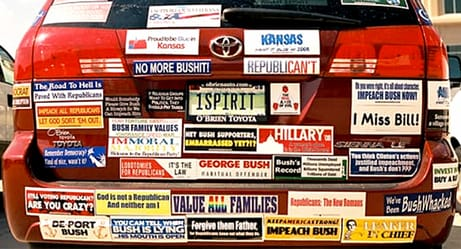 Bumper Stickers For Cars >> An Open Letter To People Who Still Have Bumper Stickers