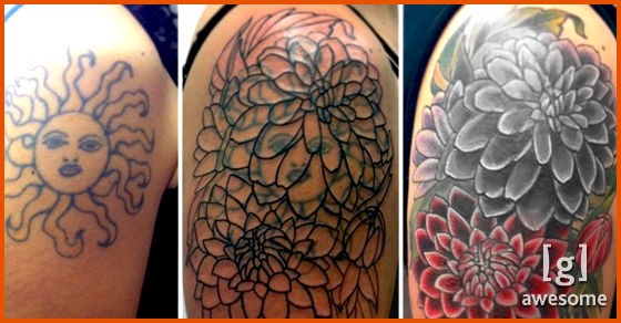 Some of the Best Tattoo Cover Ups - Bird Cover   Guff