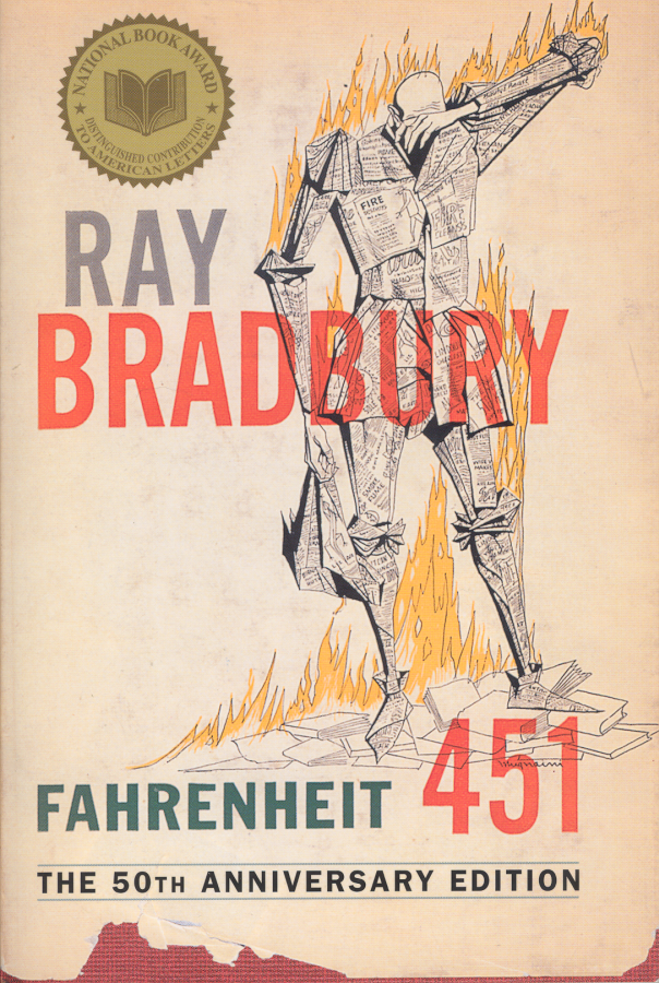 the society plagued by mindlessness in fahrenheit 451 by ray bradbury Free essay: ray bradbury's novel, fahrenheit 451, is based in a futuristic time   caught up with bradbury's f451, there is a very real danger that society might end  up  to make an argument against mindless conformity and blissful ignorance   in fahrenheit 451, bradbury predicted many issues that plague society today.