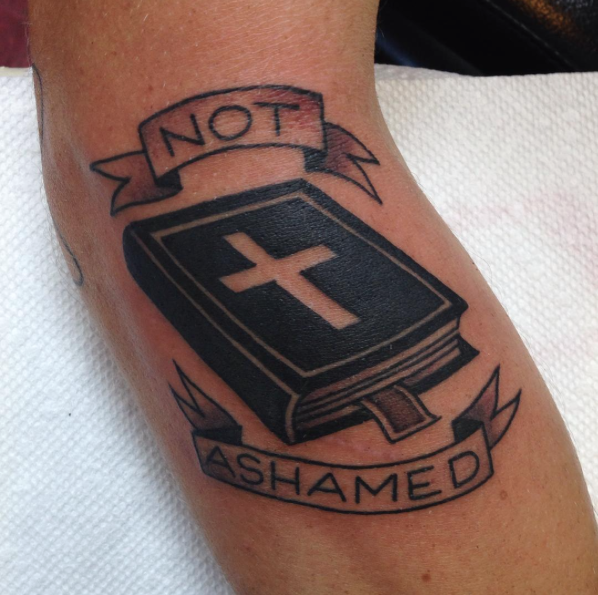 Jesus Walking On Water Tattoo Bible Tattoos for the ...