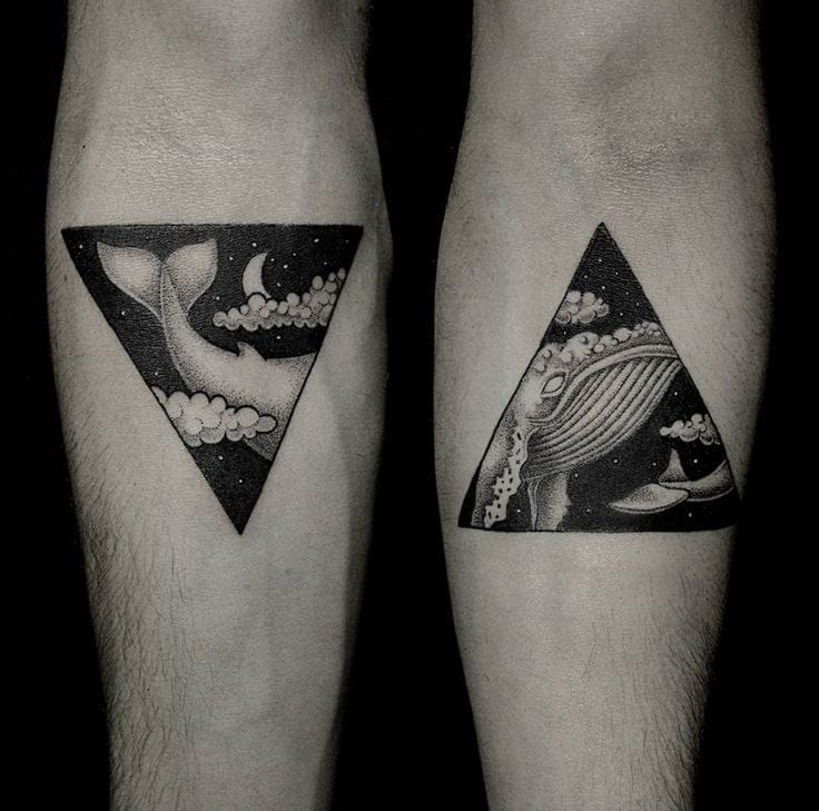 Here S Why Triangle Tattoos Are The Best Tattoos Penrose Triangle