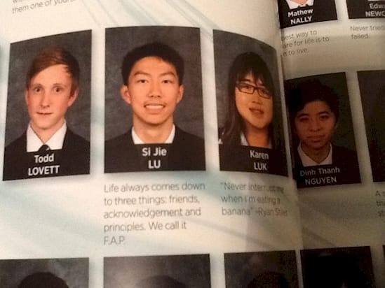 these students will go down in history their amazing yearbook