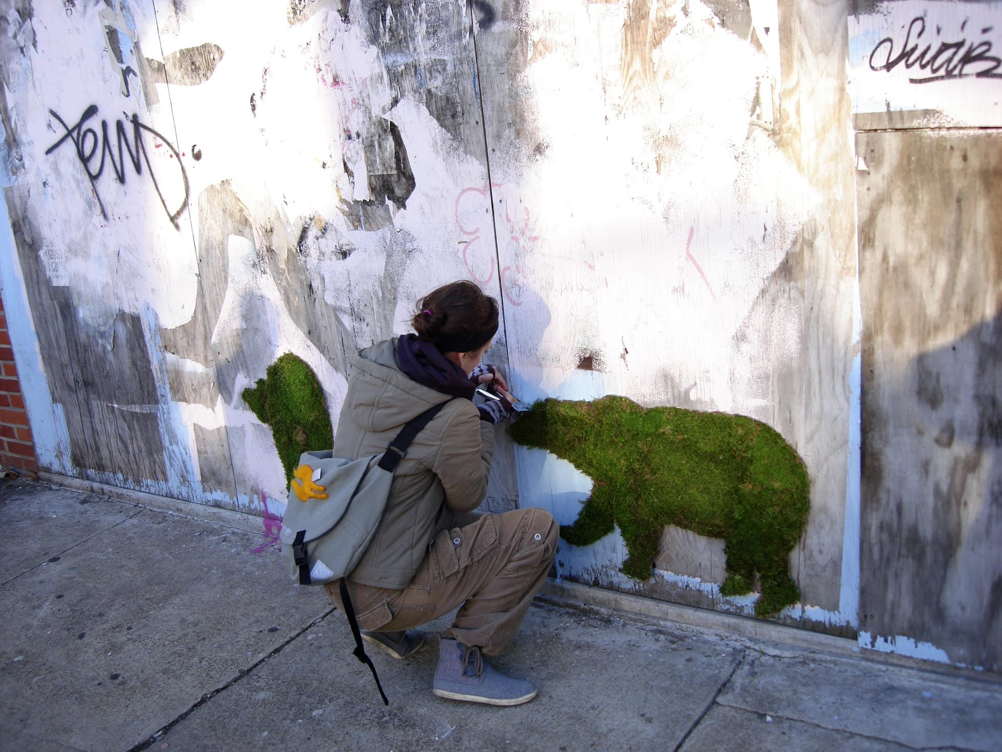 This Homemade Graffiti Looks Awesome But Wait A Few Months And It