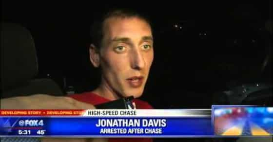 Driver Gives Hilarious Interview After High Speed Chase: 'I'm Just