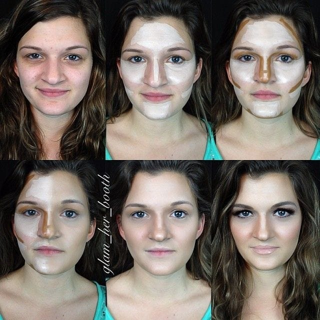 You'll Be Amazed at These Before and After Makeup Contouring