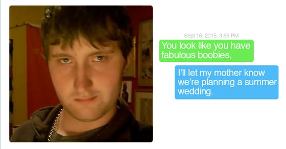 Hilarious Responses to Creepy Messages - Goodnight Indeed | Guff