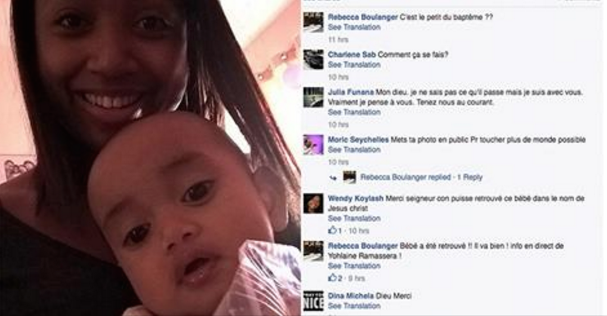 Thanks to Facebook, This Mother Was Reunited With Her Baby ...