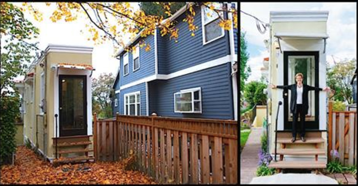 This woman built a 4 foot wide house to get revenge on her for Get a home built