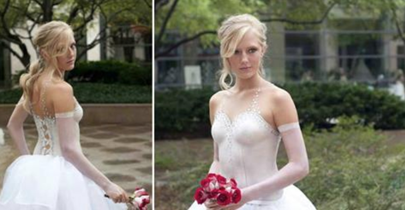 Body Paint Wedding Dresses Are A Thing And They Re Gorgeous Af Guff