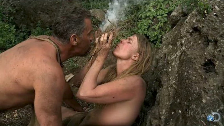 Nude scenes from naked and afraid-4352