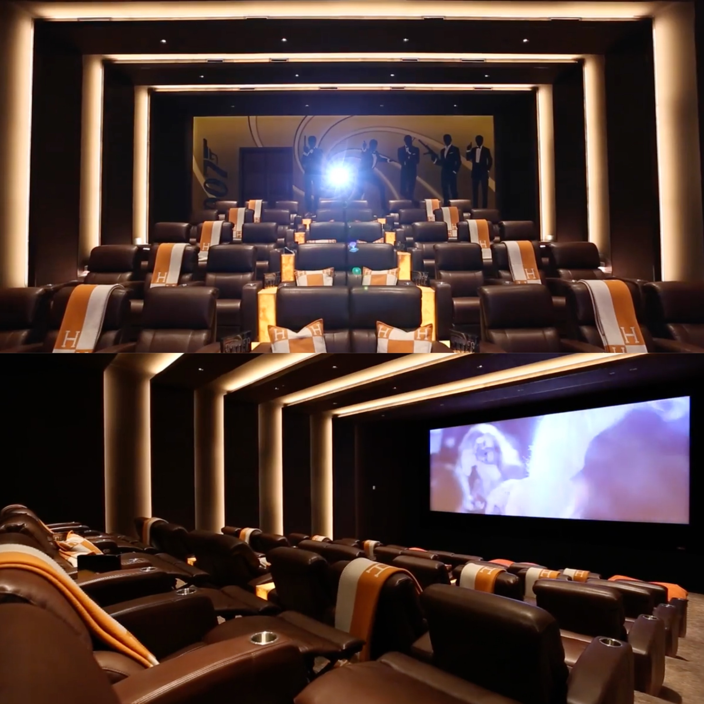 56 Best Images About House Movie Theatres Bowling Alleys: 9 Reasons Why You'll Never Leave The Most Expensive House