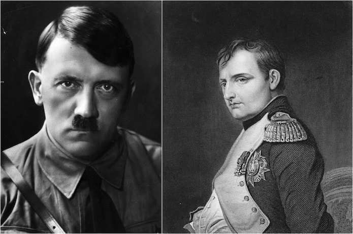 the leaders of europe comparing adolf hitler with napoleon bonaparte Start studying world history c describe the rise of fascism in europe and asia by comparing the policies of benito mussolini in italy, adolf hitler in.