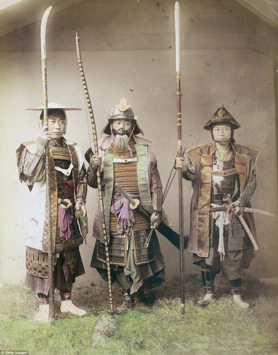 These Powerful 130 Year Old Images Of Japanese Samurai Warriors Will Leave You In Awe The Samurai S Beginnings Guff