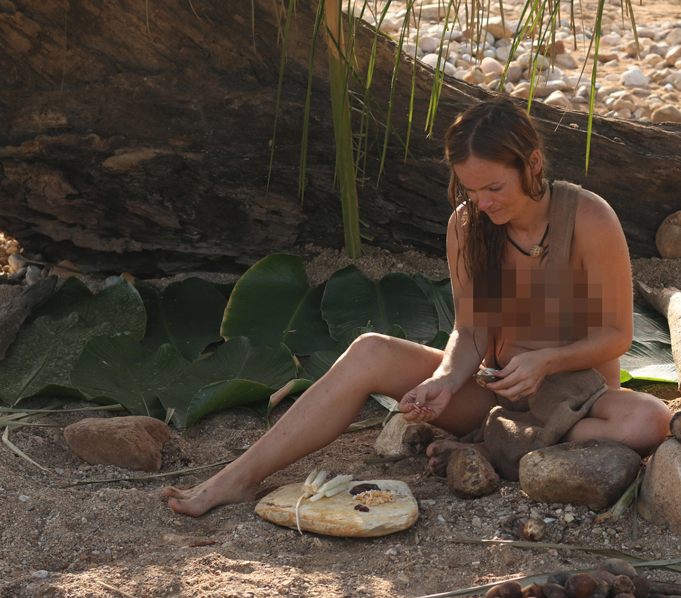 Nude scenes from naked and afraid-8935