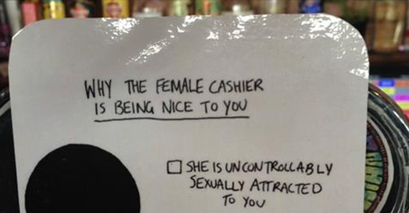 This Bar Put Up A Simple Sign To Stop Female Workers From