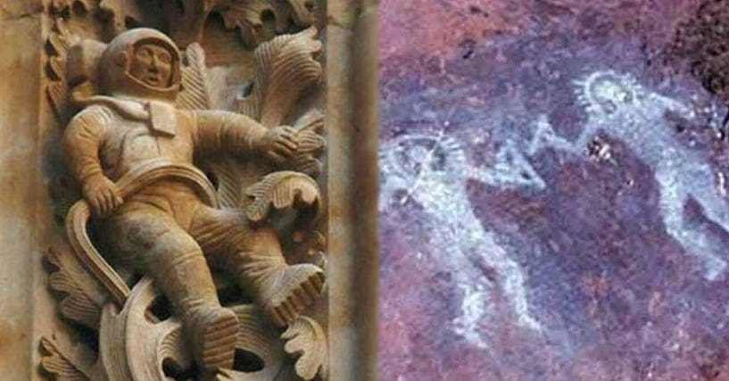 ancient alien theorists may have actually discovered proof of