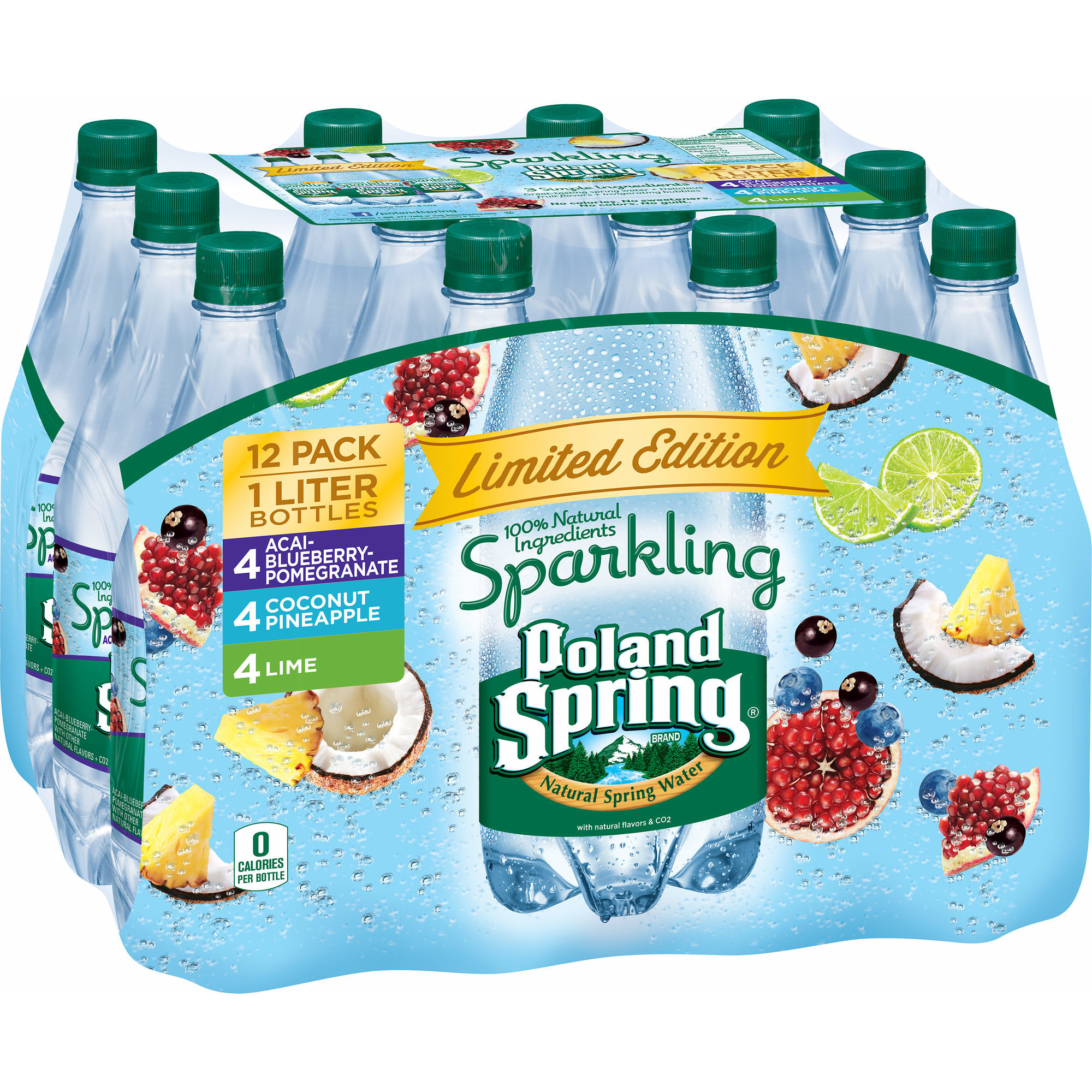 What Are The Natural Flavors In Poland Springs Sparkling Water