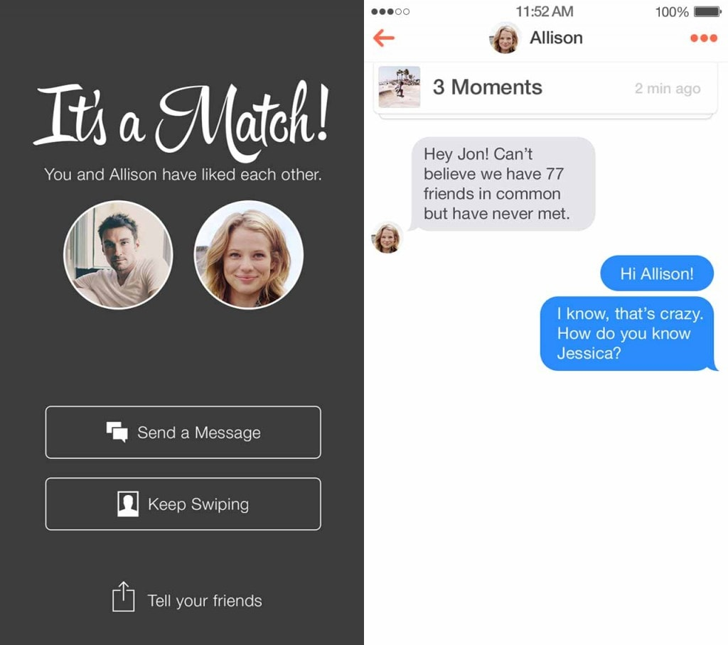The Right Way To Start Talking To An Old Tinder Match