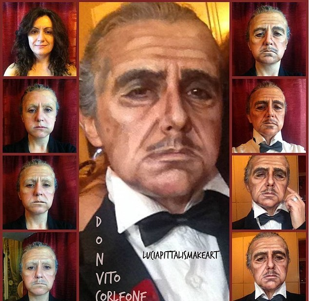 Crazy Makeup Transformations The Godfather Guff