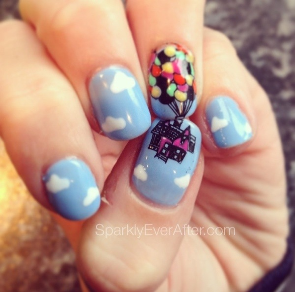 Absolutely Awesome Disney Nail Art Frozen Guff