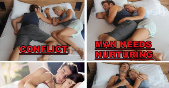 The Meaning Behind Couples Sleep Positions