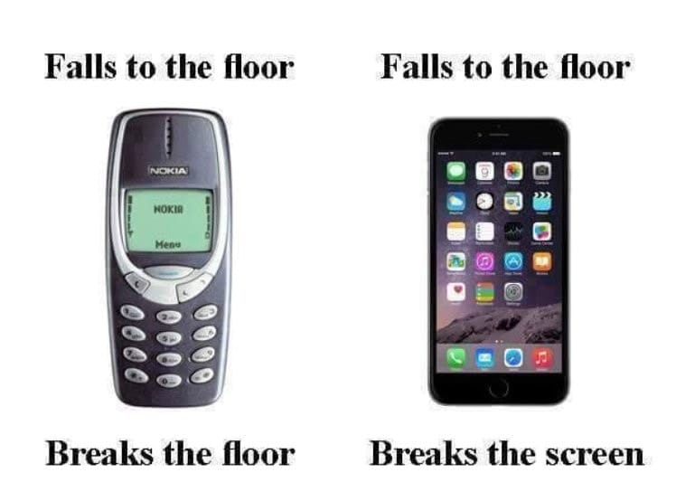 Then Vs. Now Pics That Will Make You Yearn For The Past - Dropping Your Phone | Guff