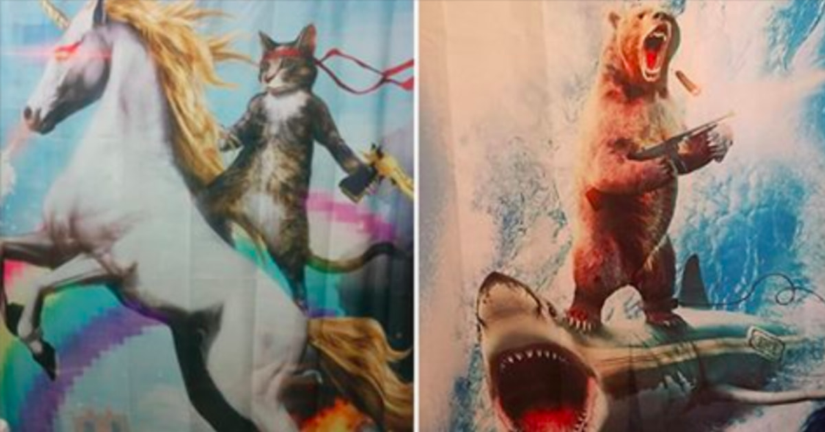 15 People Whose Shower Curtains Will Make You LOL