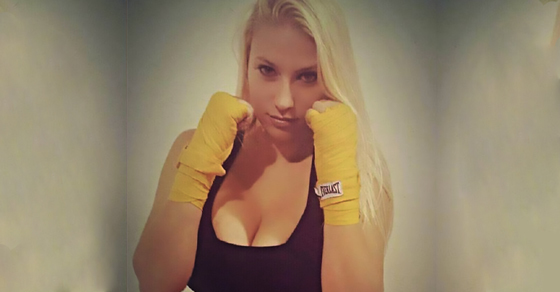 F Cup Breasts This MMA Fighter's F-C...