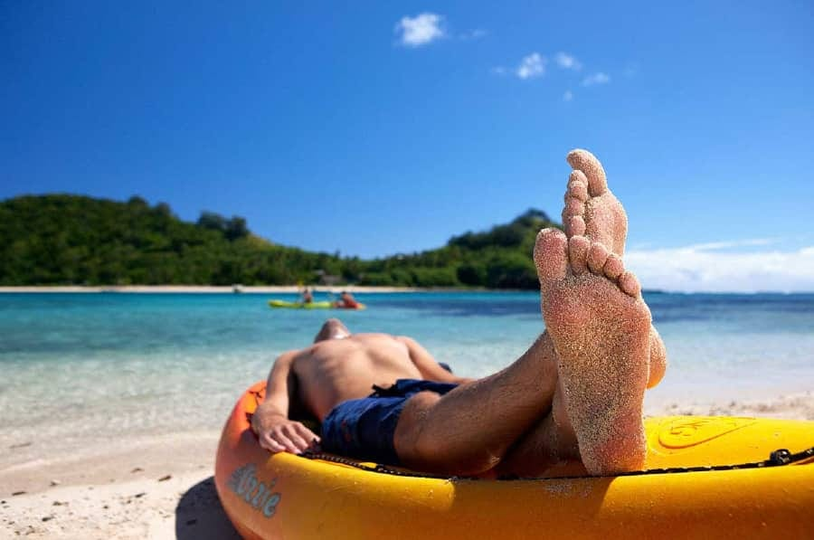 Why You Should Be Massaging Your Feet Every Night Before