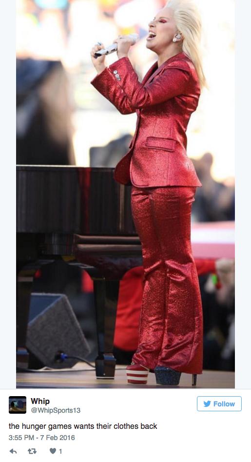 Lady Gaga's National Anthem Won the Super Bowl - Lady Gaga ...