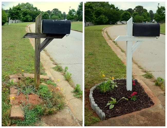 how to give a mobile home curb appeal
