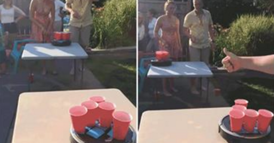 roomba beer pong is the only drinking game you ll need this summer