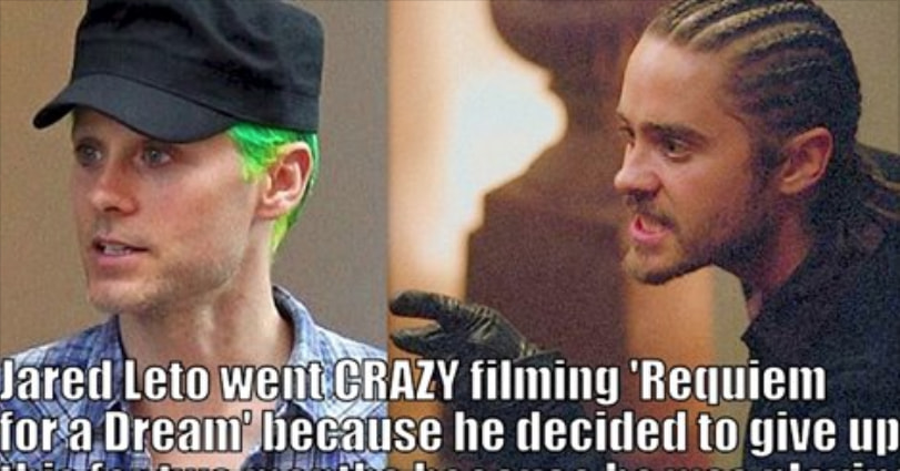 11 Startling Facts About Jared Leto - He's 44 Years Old